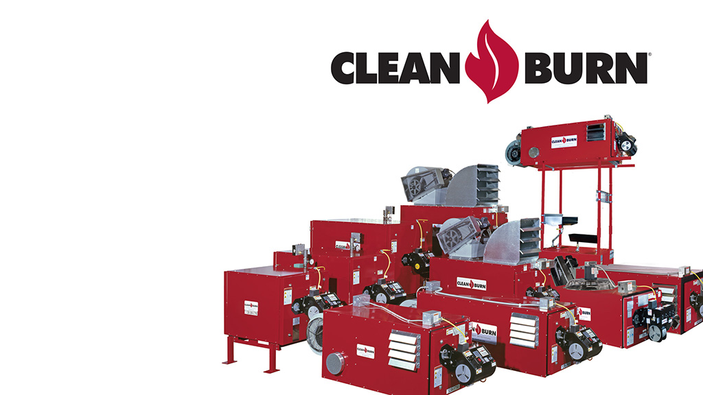 cleanburn waste oil heater image