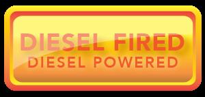 diesel heated, diesel powered button