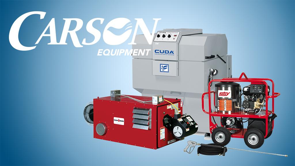 carson equipment and vendors slide