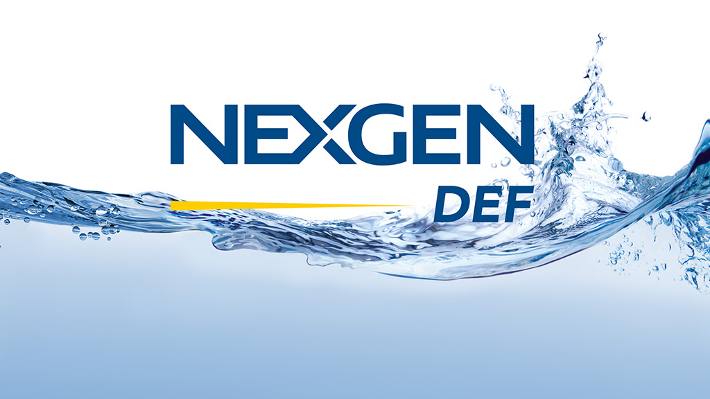 nexgen def water splash and logo