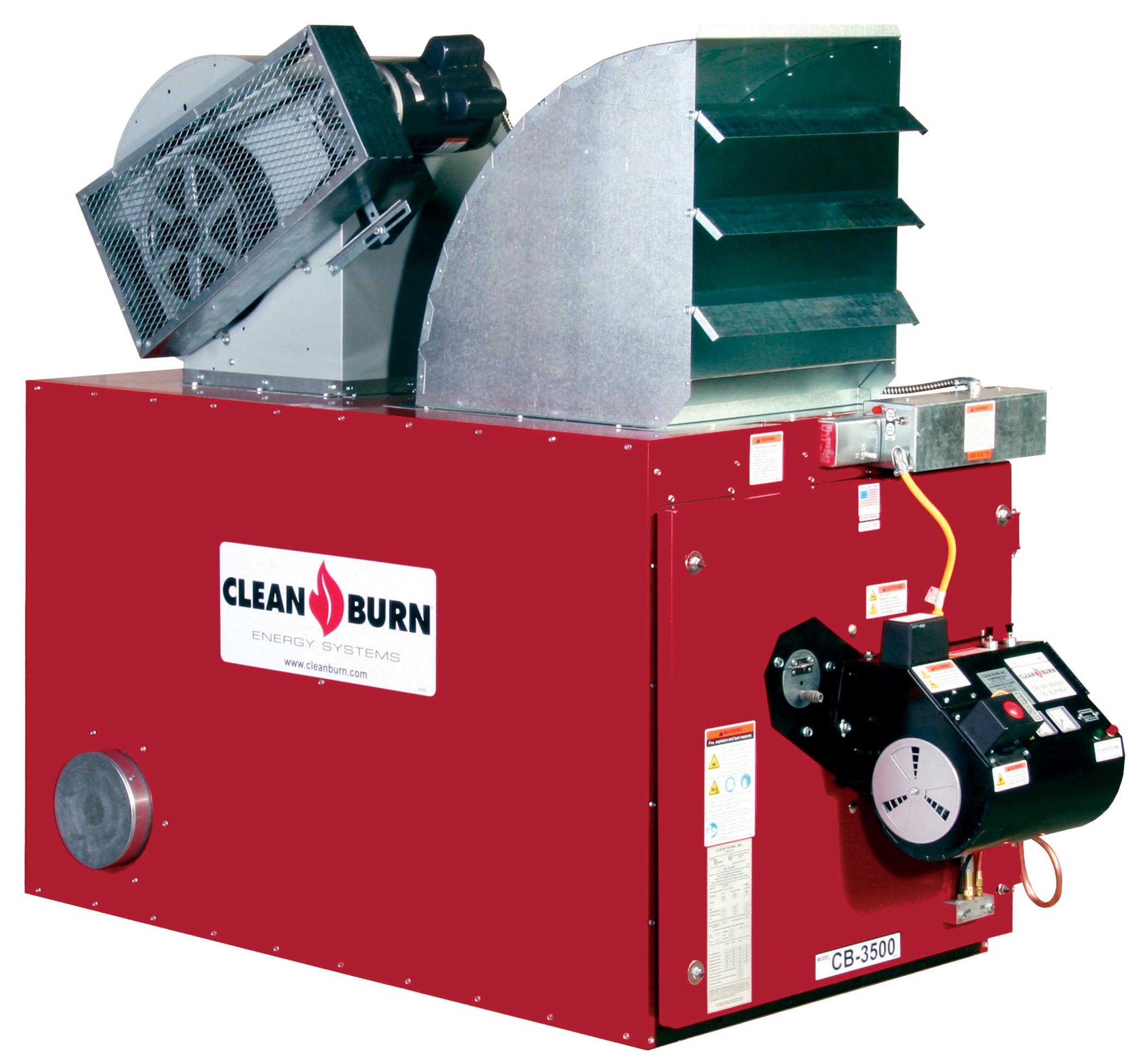 Carson Equipment Clean Burn Waste Oil Furnaces