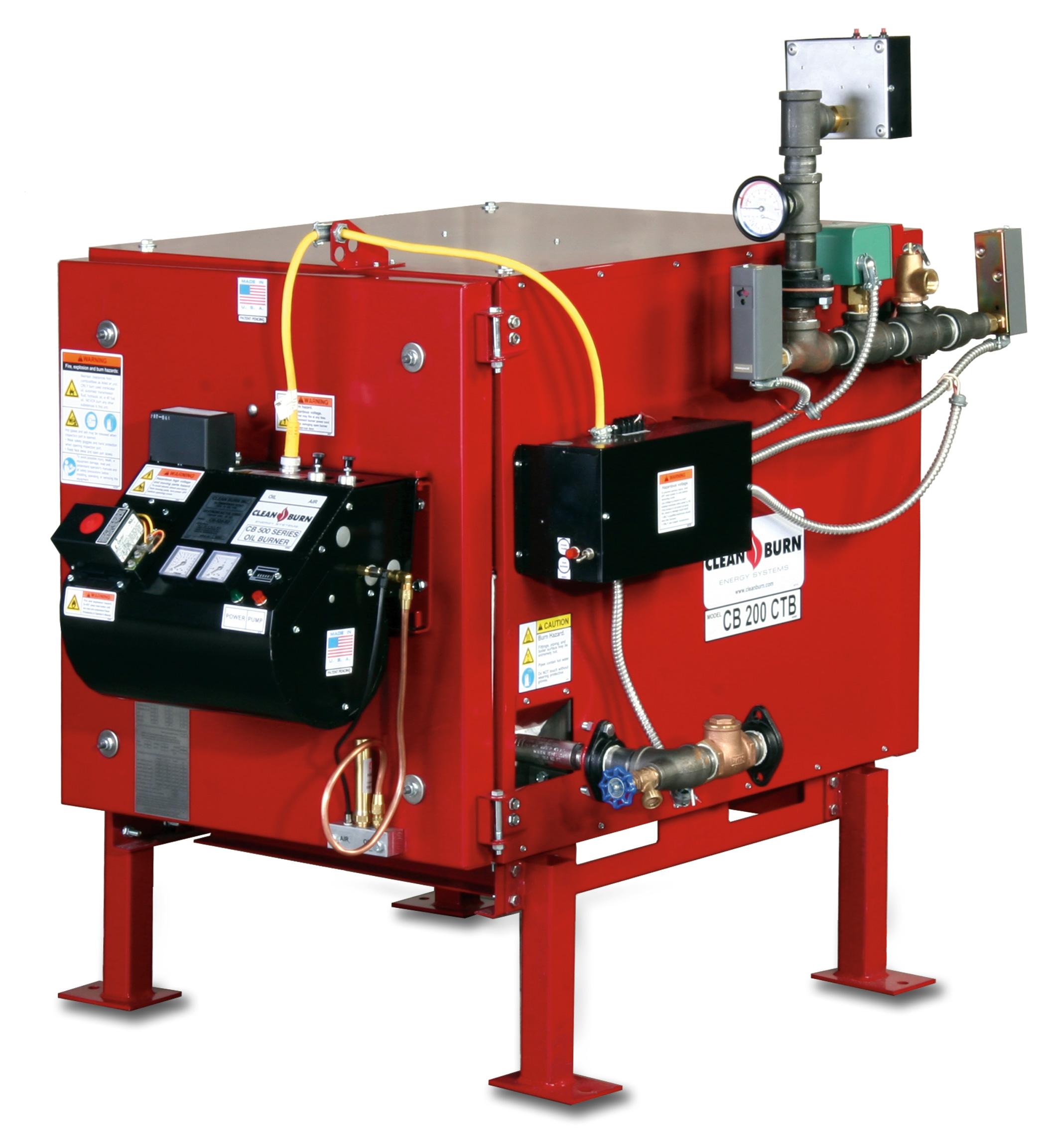 Carson Equipment Clean Burn Waste Oil Boilers