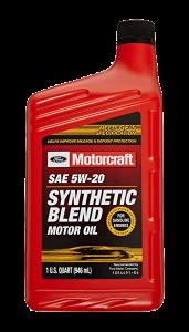 Motorcraft Synthetic Blend PCMO image