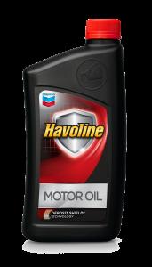 havoline regular motor oil