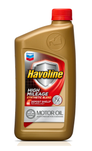 havoloine synthetic high mileage motor oil pic