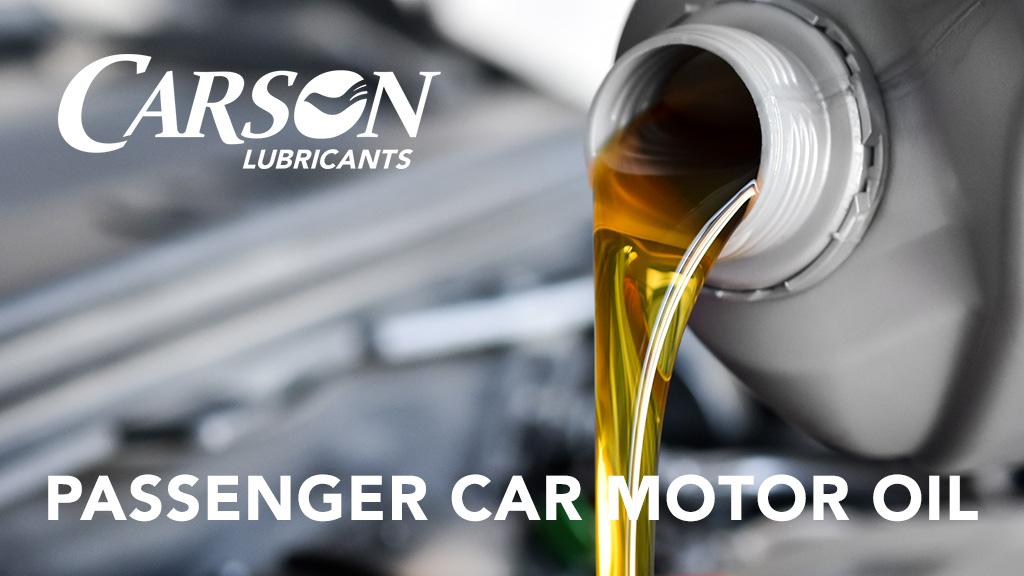 passenger car motor oil banner