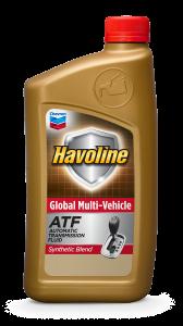Havoline Global Multi Vehicle Synthetic Blend ATF