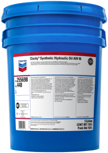 Chevron Clarity Synthetic AW 46 hydraulic oil