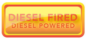 diesel heated, diesel powered button