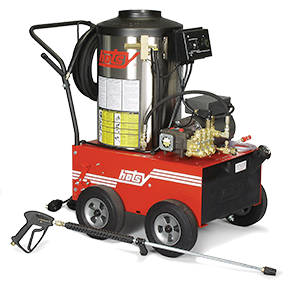 Hotsy 680ss Series Pressure Washer - Oil Heated, Electric Powered - Thumbnail