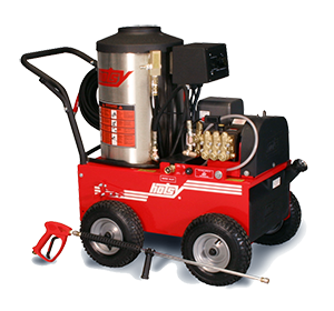 Hotsy 895ss Series Pressure Washer - Oil Heated, Electric Powered - Thumbnail