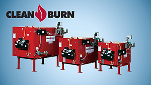 Clean Burn Waste Oil Boilers
