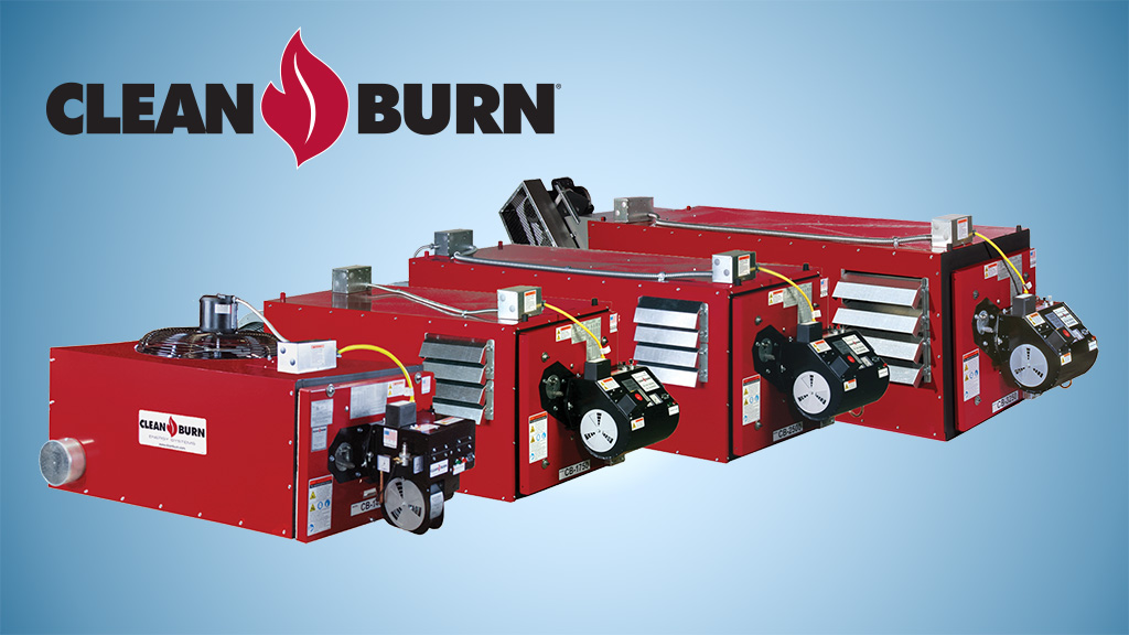 Carson Equipment Clean Burn Waste Oil Furnaces
