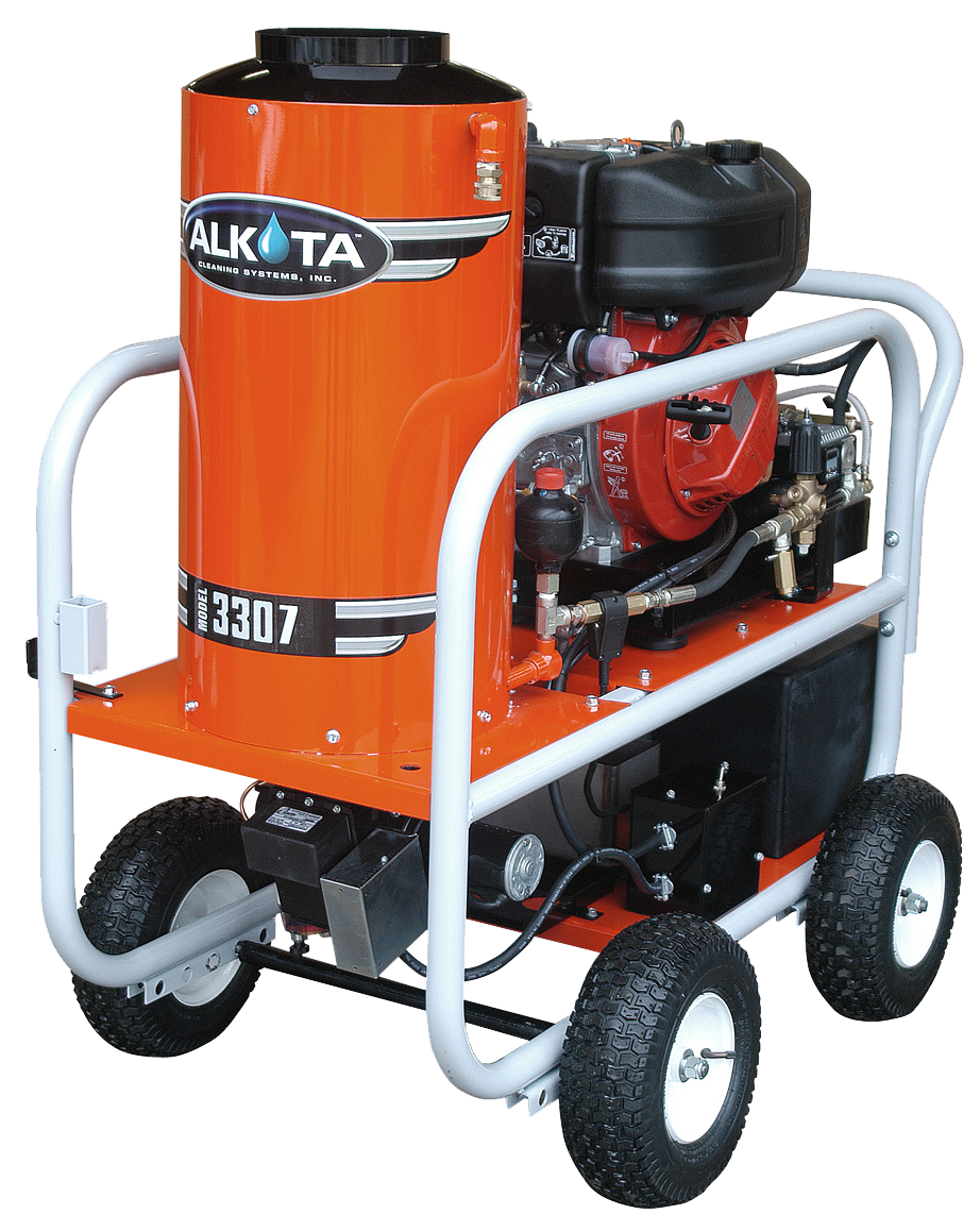 Carson Equipment Alkota Hot Water Pressure Washers