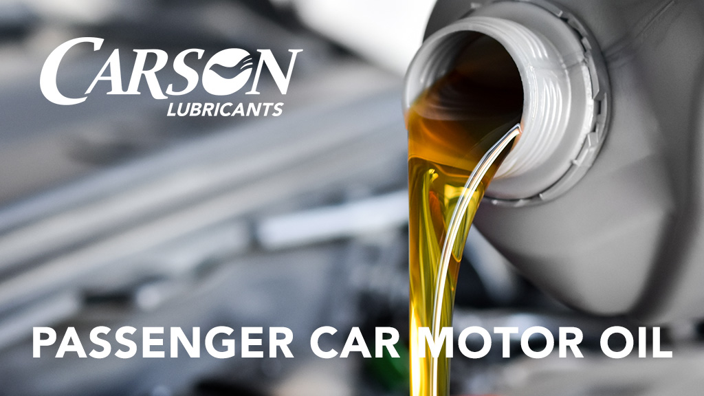passenger car motor oil banner