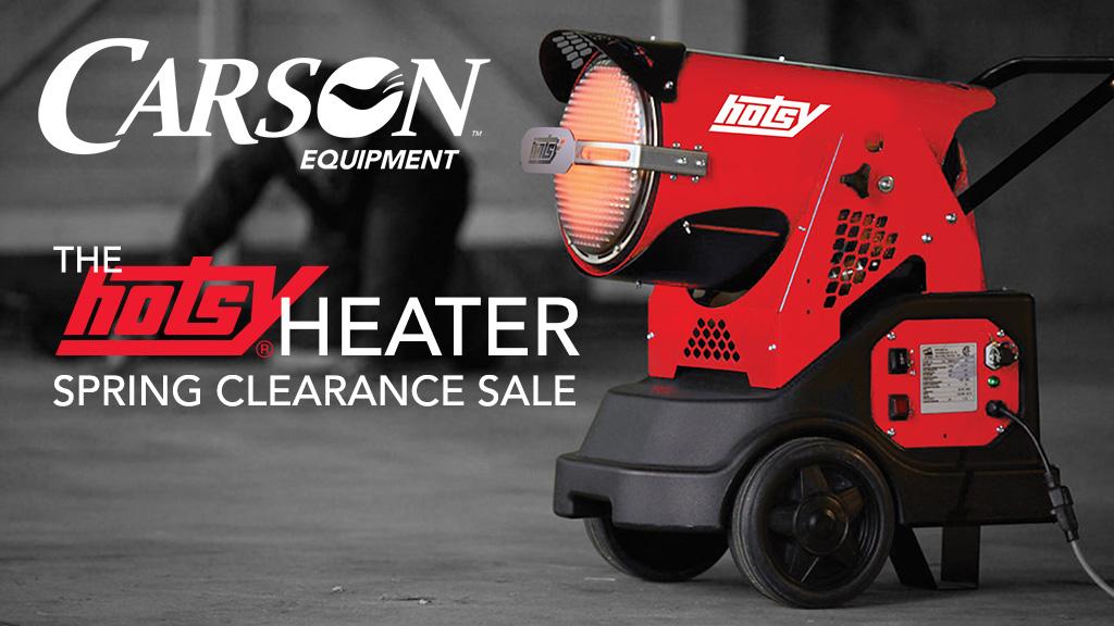 Hotsy Heater Sale slide