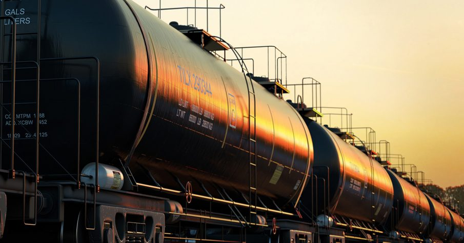 Bulk fuel is often carried by rail car to a terminal, where a transloading specialist like Carson will collect it then transport it to your site.