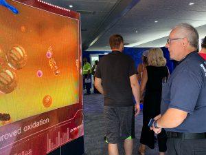 Carson guests explore Chevron's Delo Mobile Technology Lab