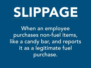 Slippage costs businesses