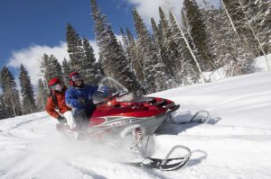 Oregon has 6,000 miles of trails designated for winter sports that includes snowmobiling, cross-country skiing and dog sledding.