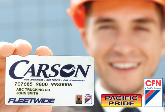 Carson owns 25% of Oregon Cardlock Stations