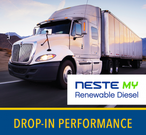 It's easy to upgrade to high-performing Neste My Renewable Diesel. Just fill-up & go.