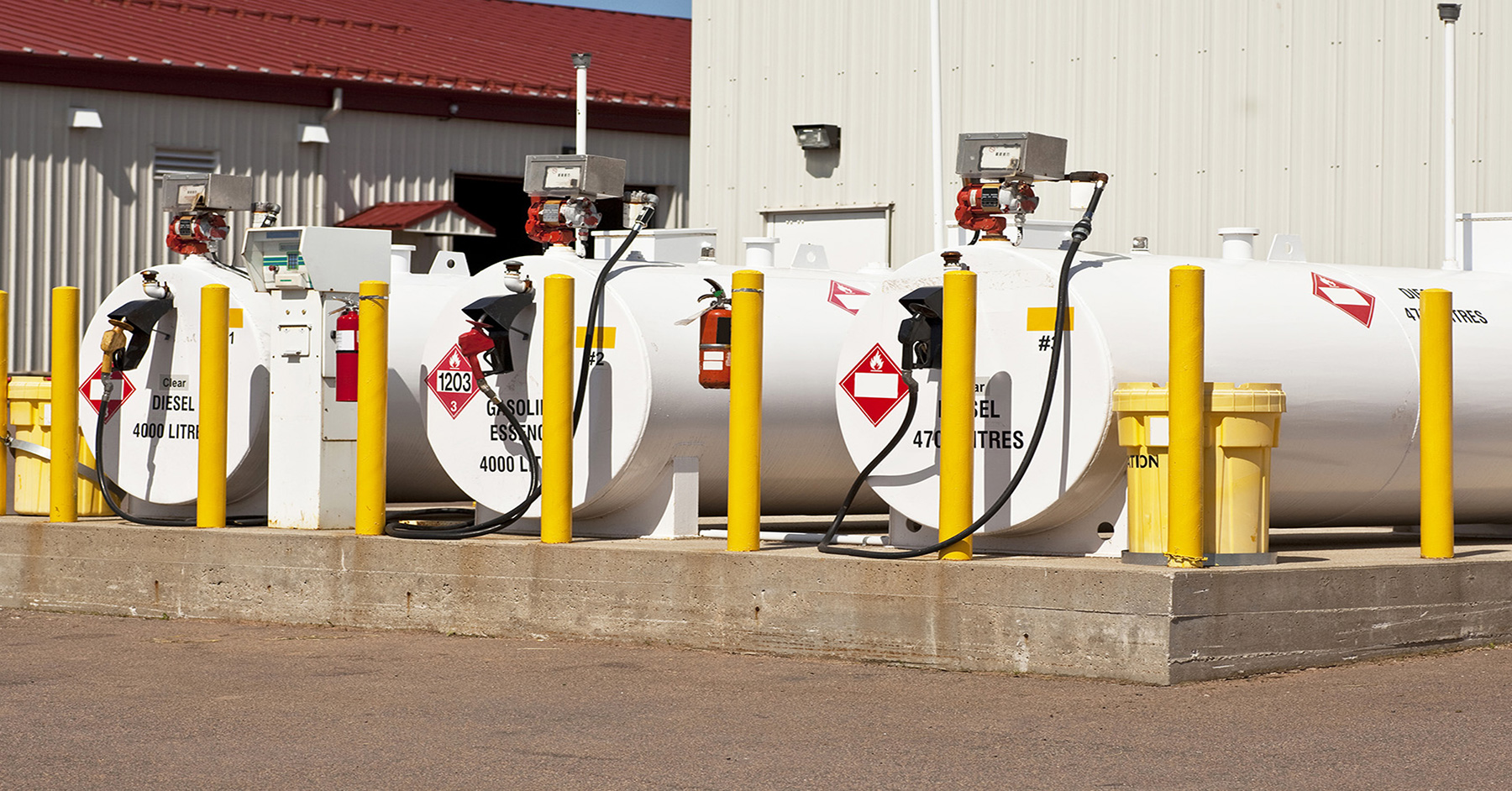 Custom Lubricant & Fuel Storage with Carson Industrial Solutions